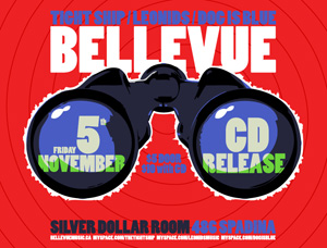 Bellevue CD Release Party at the Silver Dollar on Nov. 5, 2010