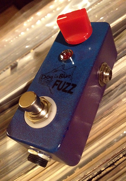 Dog Is Blue Fuzz Pedal