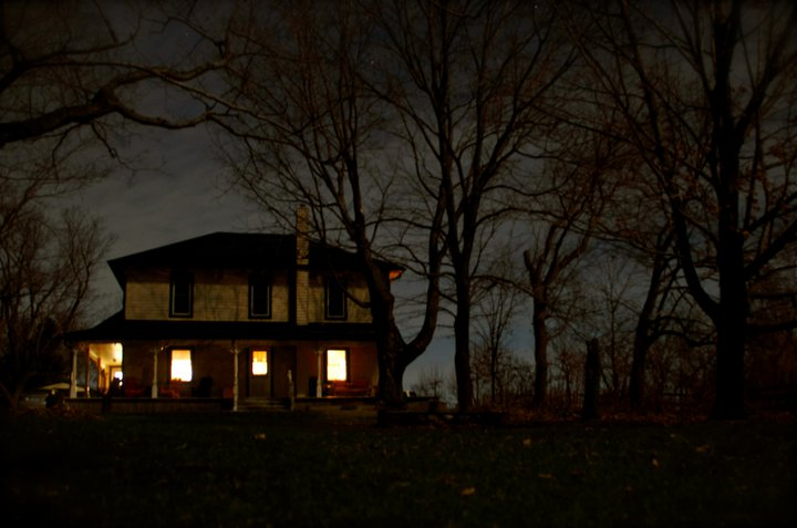 The Daverne Farm at Night by Joey Bruni