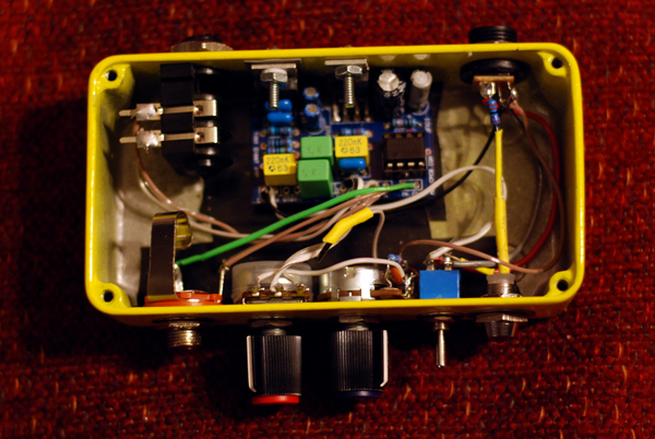 Homemade Tiny Giant Amp