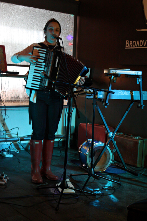 Anna Atkinson Live at Broadview Espresso in Toronto on Jan. 8, 2011, by Louise Andre