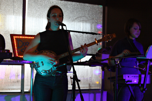 Dog Is Blue and Anna Atkinson Live at Broadview Espresso in Toronto on Jan. 8, 2011, by Louise Andre