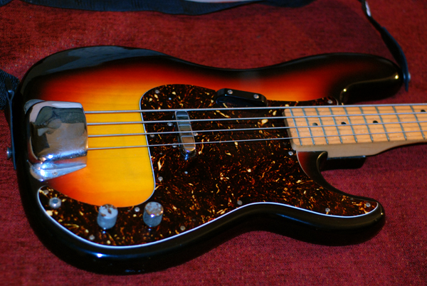 Univox Bass Guitar